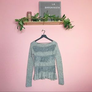 Anthropologie Sleeping On Snow Nuvola Knit Sweater